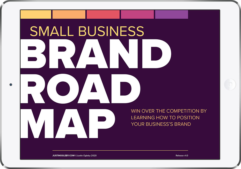 Photo of Brand Road Map on Ipad