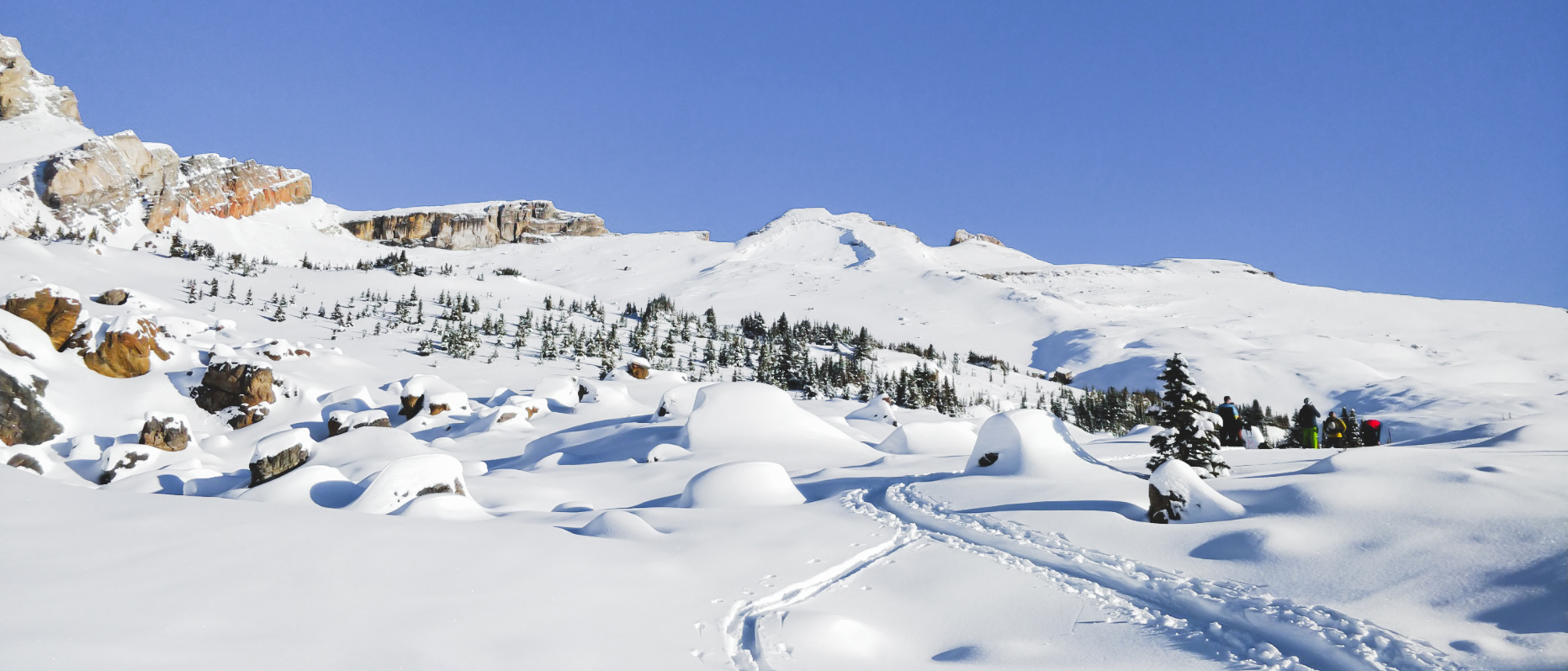 Oxo Puzzle Peak Ramp Watermelon Ridge in Winter