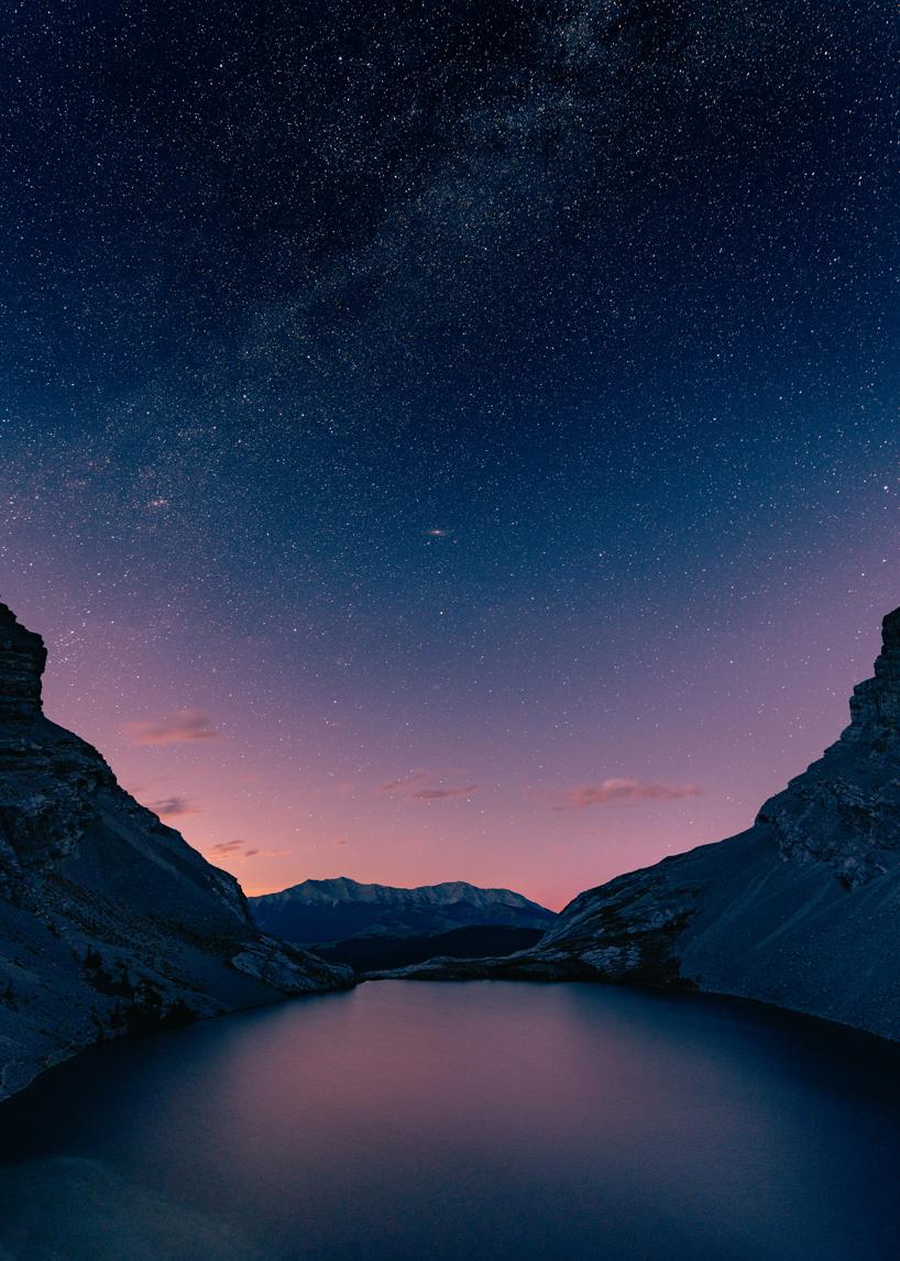 Milky way over carnarvon lake kananaskis sigma 16mm f1.4
