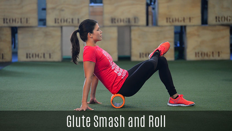 glute smash foam roller demo