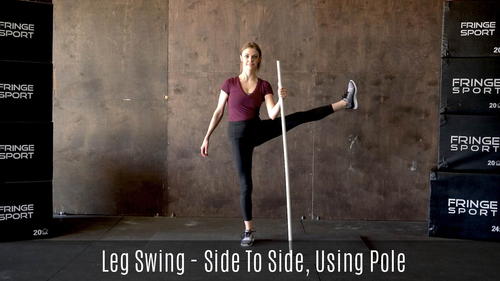 dynamic lateral leg swings movement demo