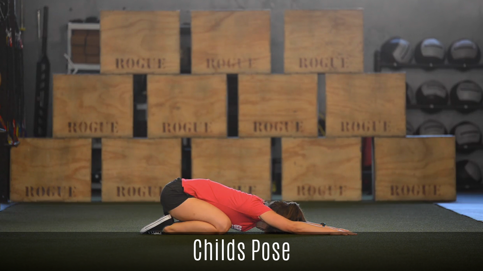 childs pose demo