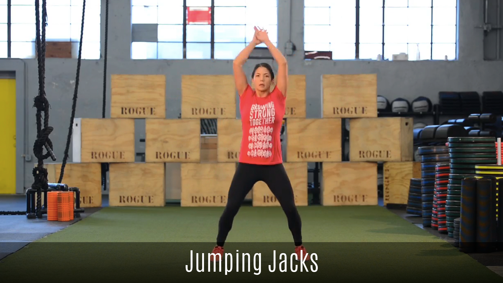 dynamic jumping jacks movement demo