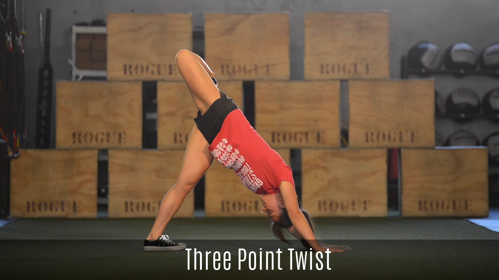 three point twist movement demo