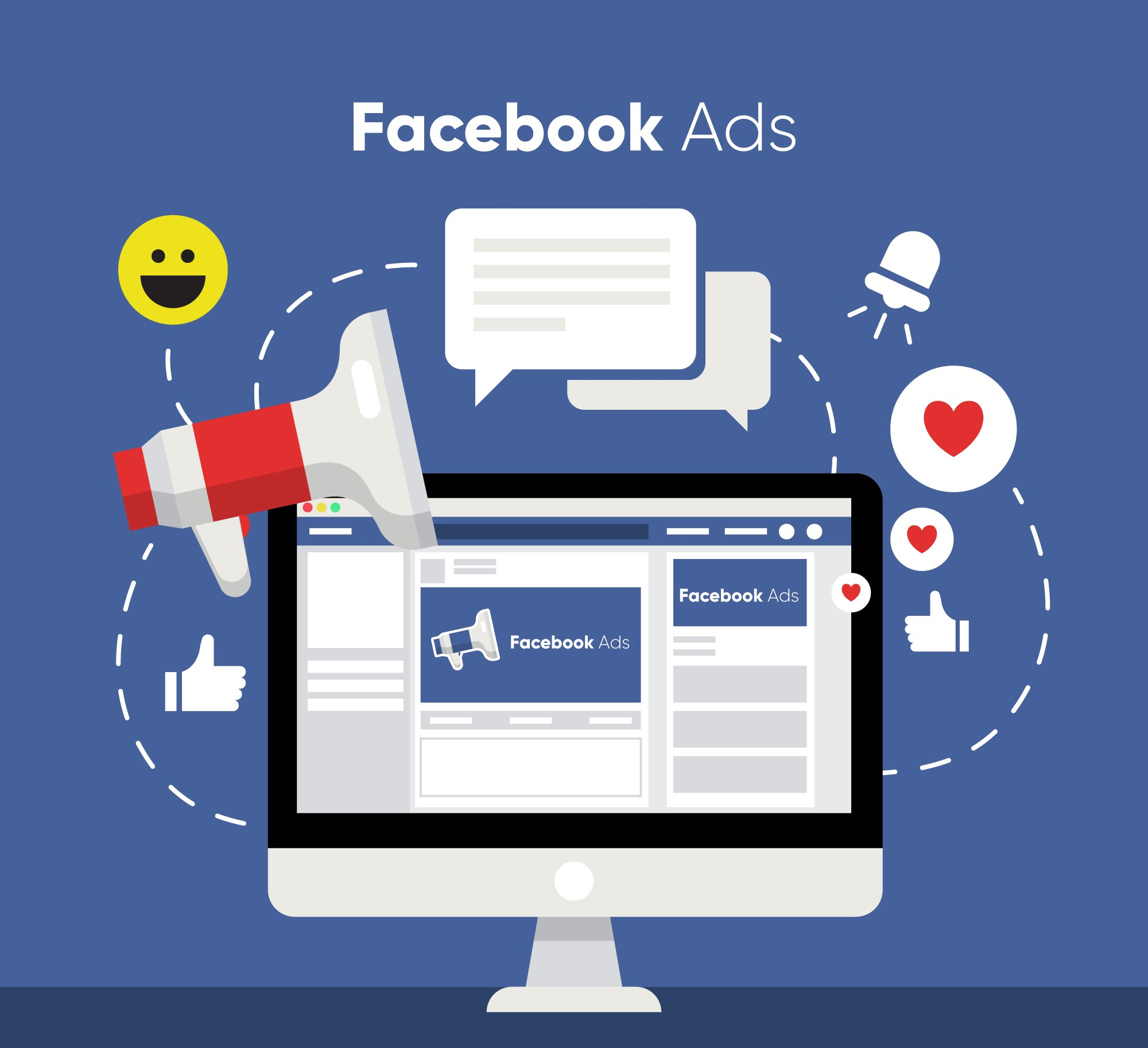 Facebook is well known for its ad network