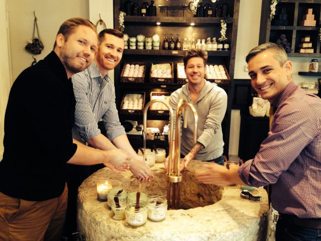 Travel Tips New York Sabon store in SoHo