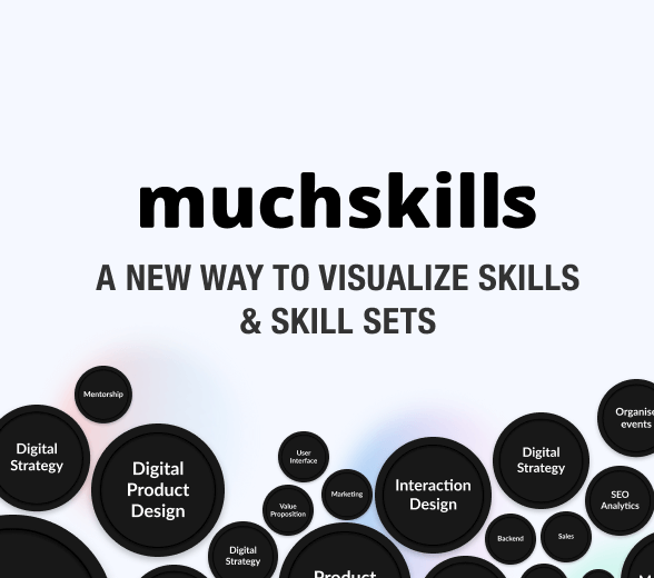We are developing MuchSkills – a new way to visualize skills and skill sets