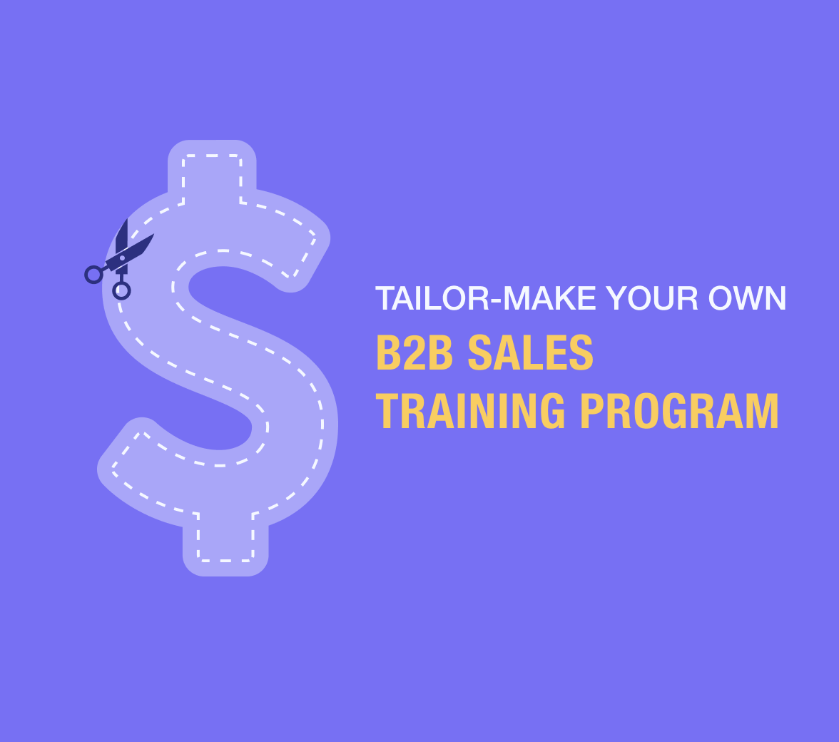 Guide to a B2B sales training program all companies should design