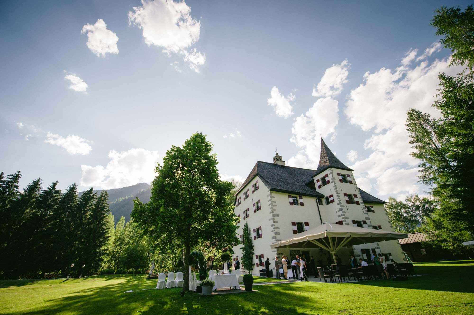 Hochzeitslocation Schloss Prielau