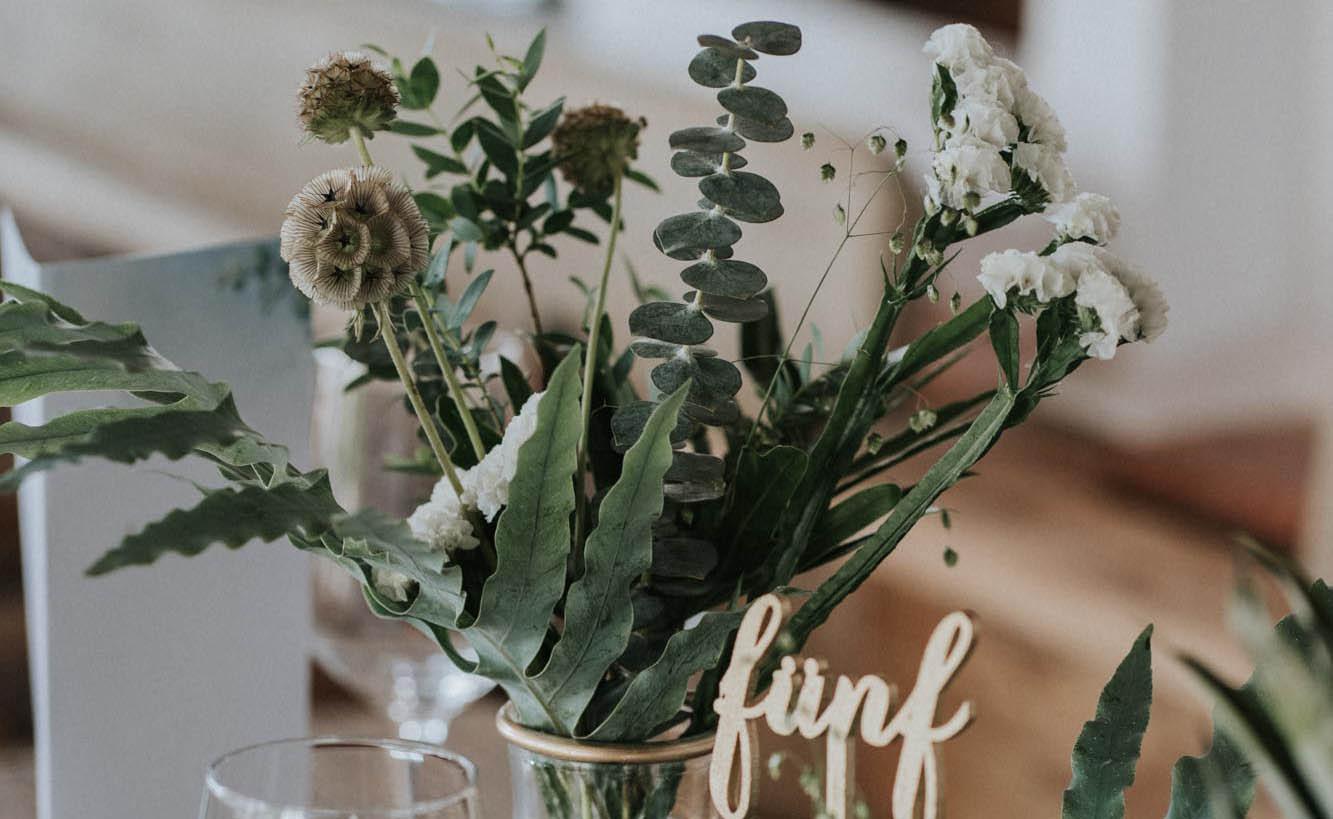 Hochzeitsfloristik von Bindestelle