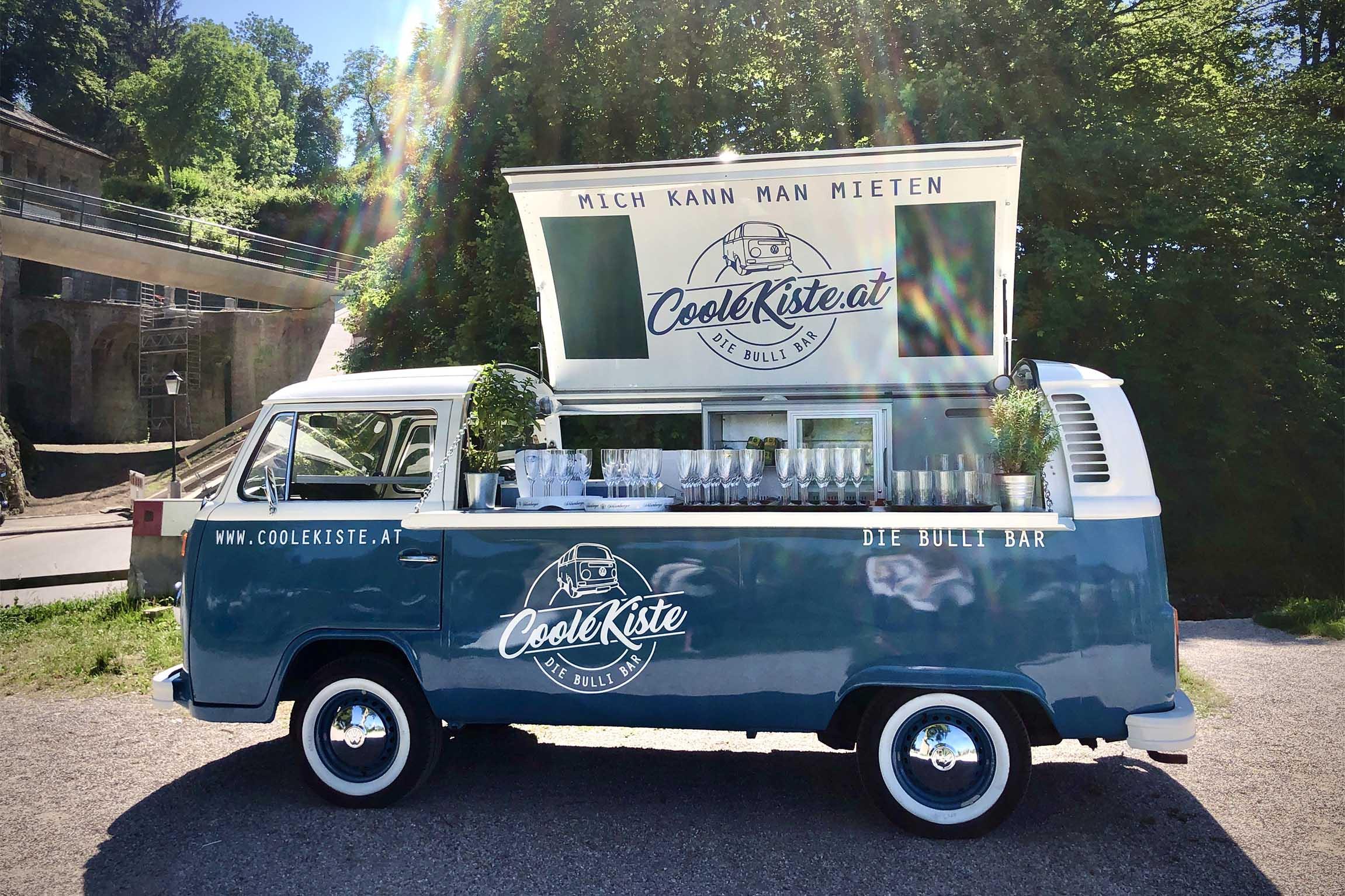 Coole Kiste –Die Bulli-Bar für eure Hochzeit