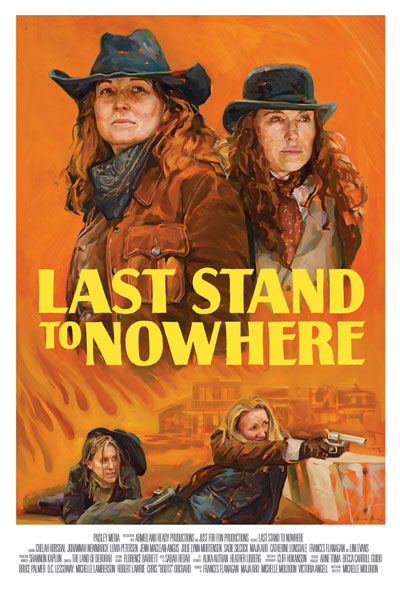 Official poster for Last Stand to Nowhere