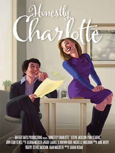 Official Poster of Honestly Charlotte