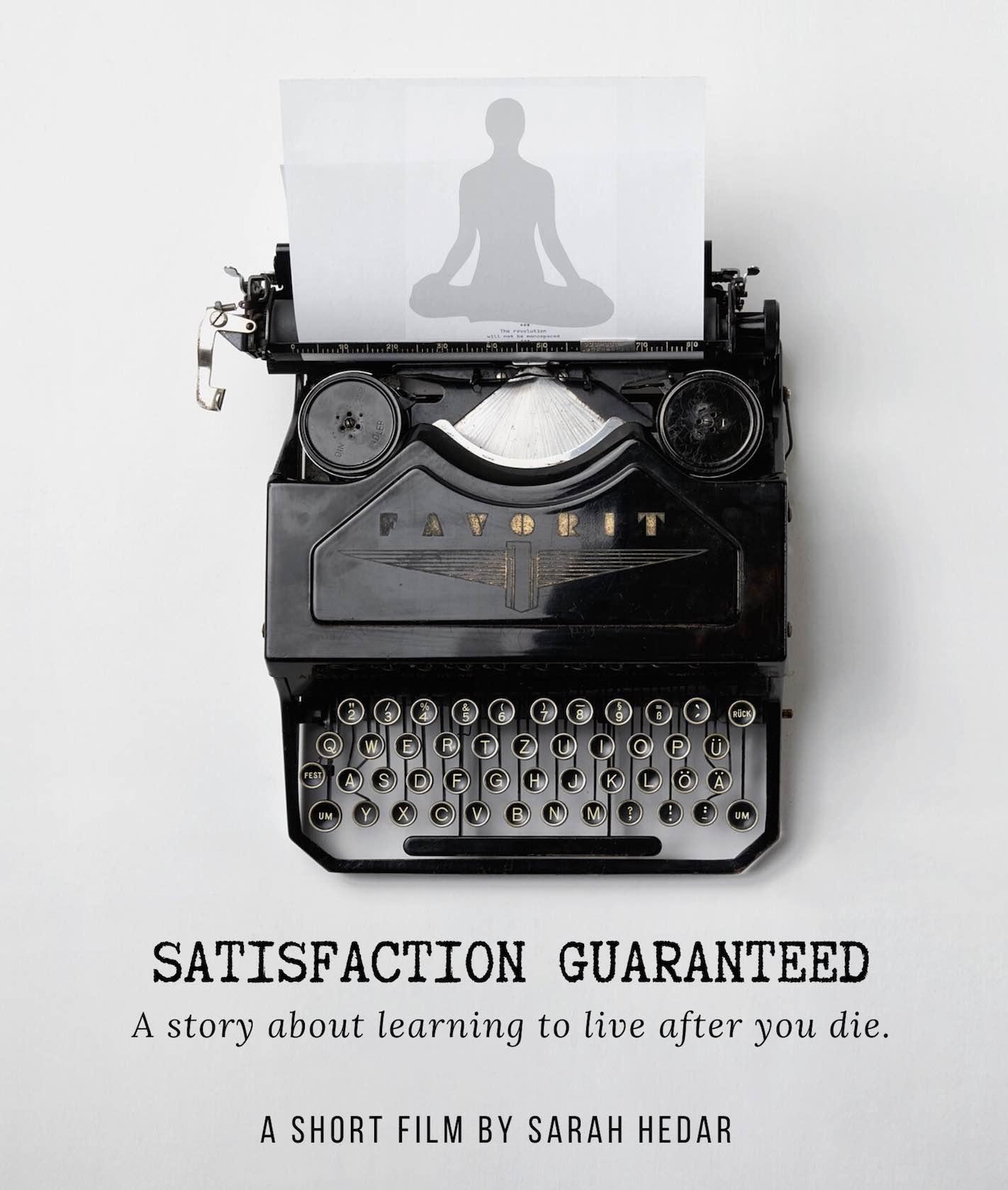 Temp poster image for Satisfaction Guaranteed