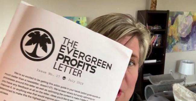 Hustle & Flowchart – Evergreen Profits Newsletter 2020-2021