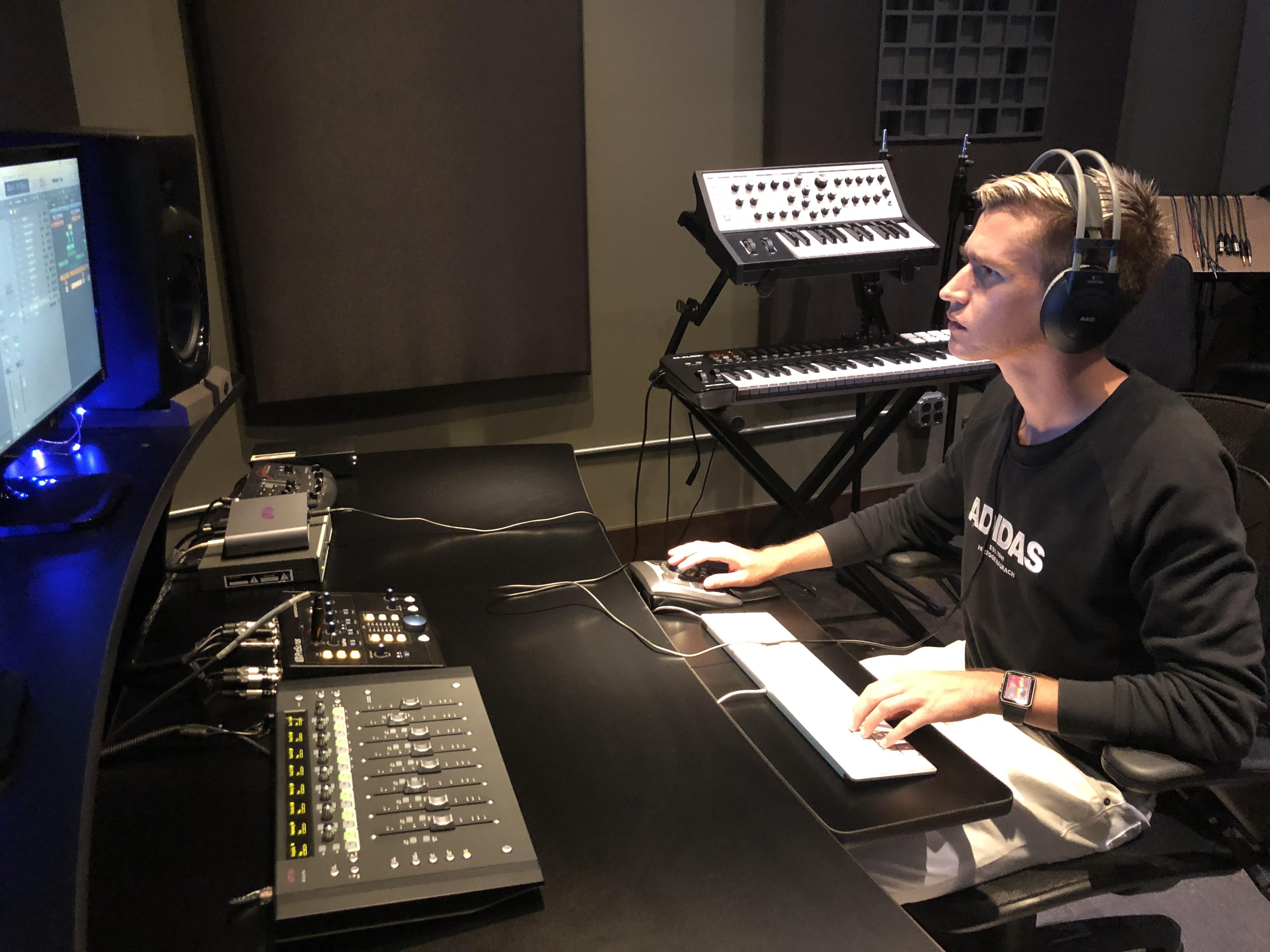 Lucas Mixing Audio