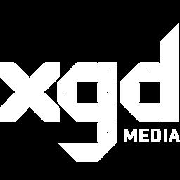 XGD Media Logo White