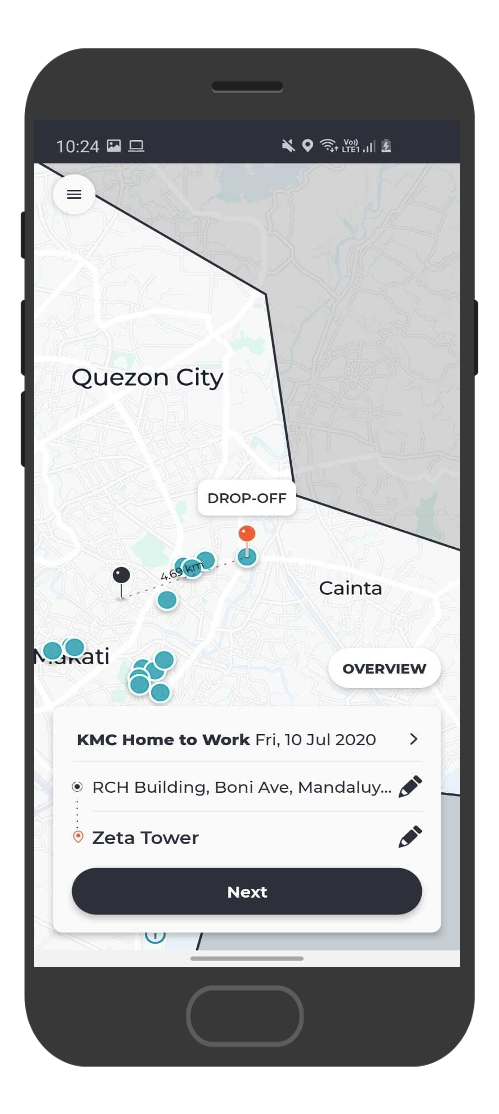 SWATBiz-passenger-app-booking