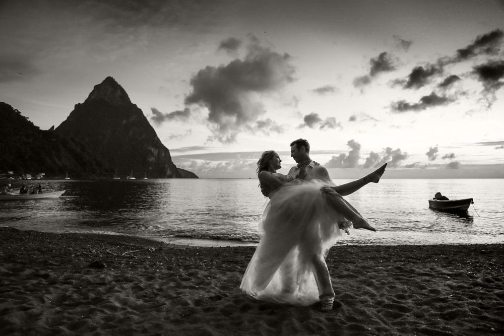 wedding day pitons dance