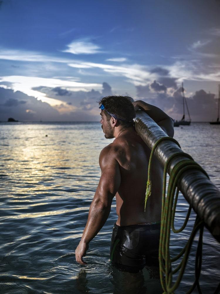 Ross Edgley swimmer