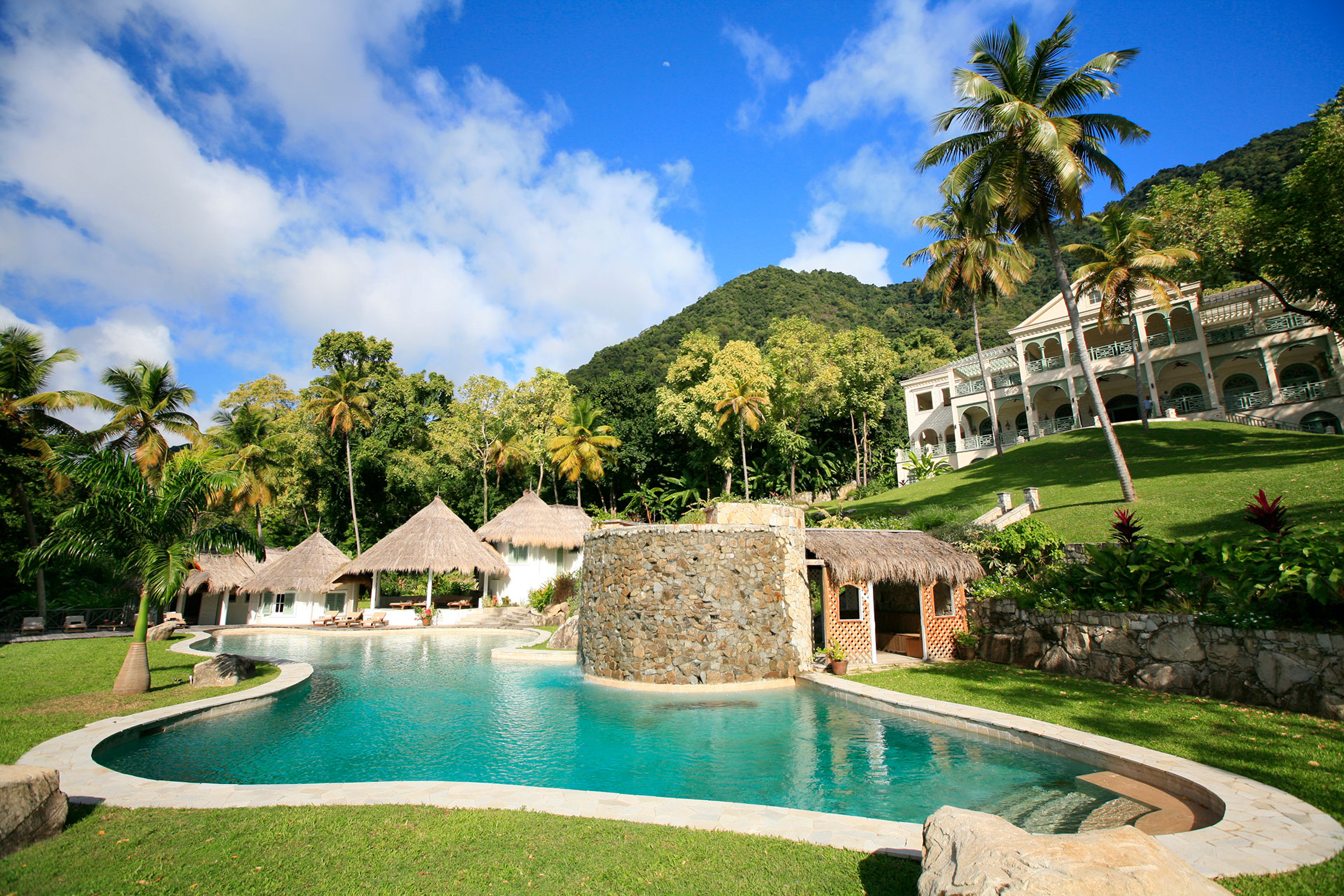 Caribbean home exterior