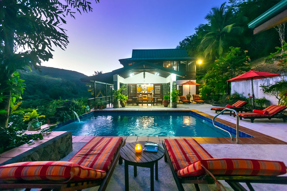 Caribbean home