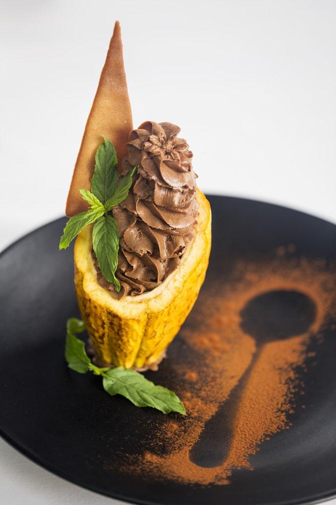 Cocoa dessert