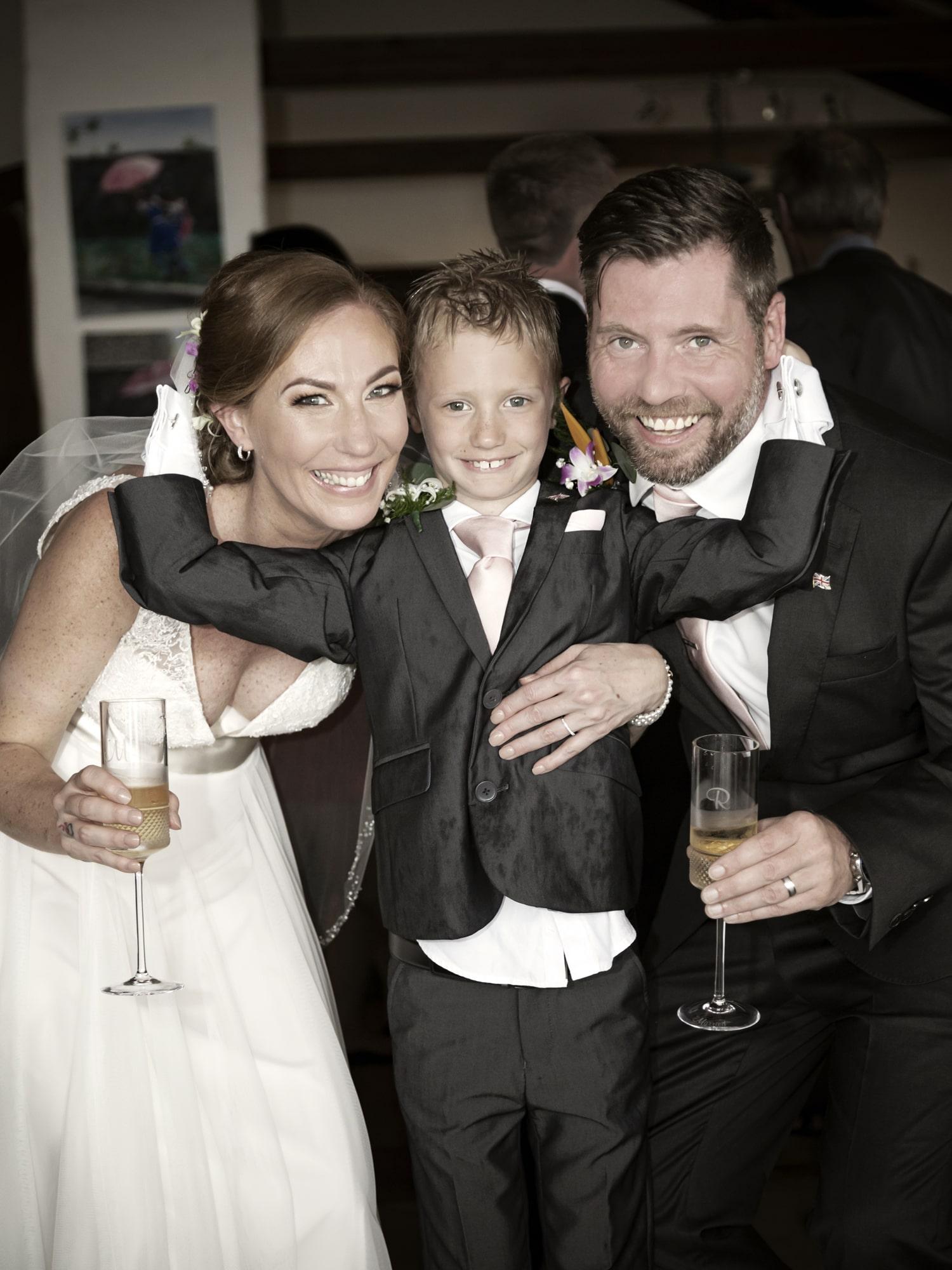 Bride, Son, Groom