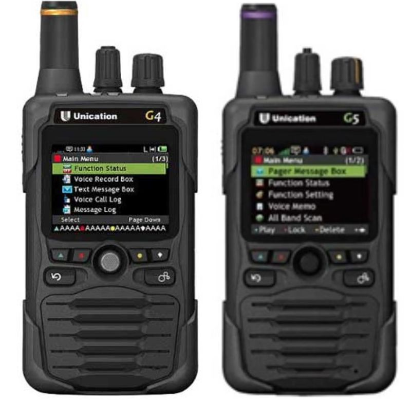 Unication G4 & G5 Pagers