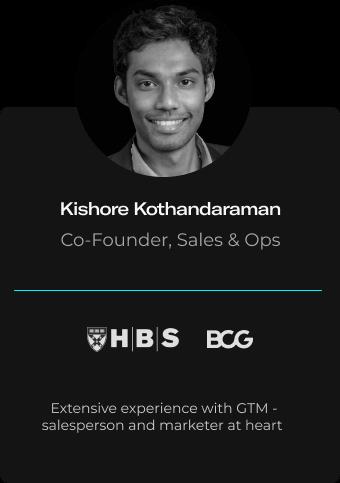Kishore Kothandaraman