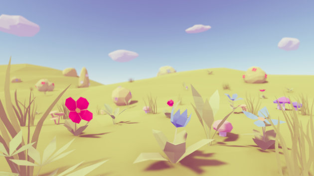 Low Poly Vegetation Pack