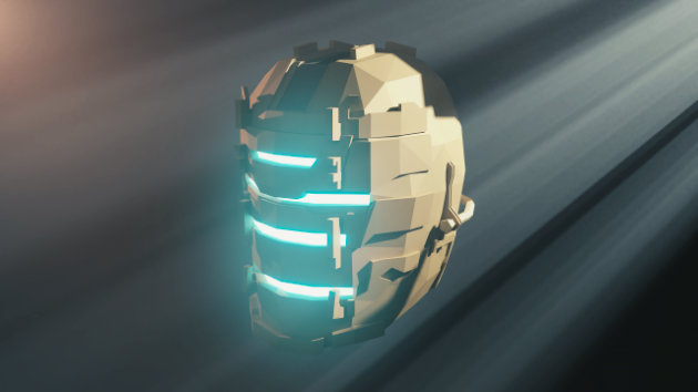 Blender Timelapse - Low Poly Dead Space Helmet Modeling
