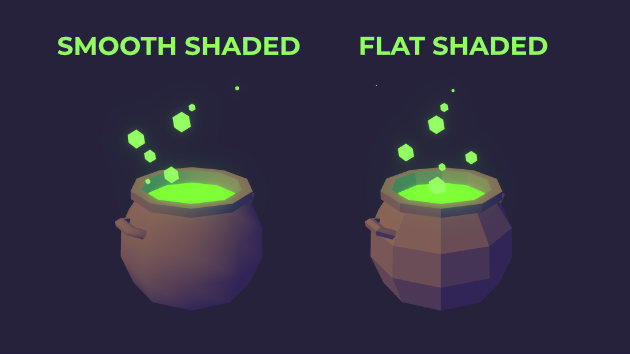 How to Change Object Shading in Unity