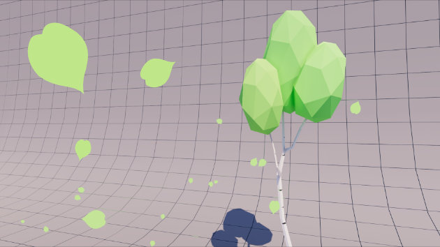 Unity Tutorial - Falling Leaves Particle System