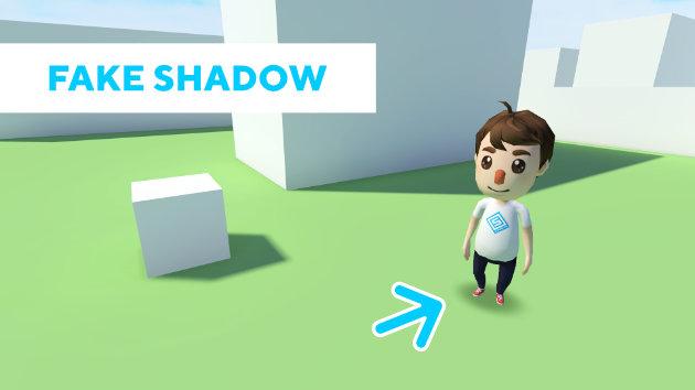 Unity 2017 Tutorial - Blob Shadow Projector - Fake Shadow