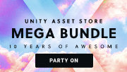 Unity Mega Bundle X Sale - 10 Years of Awesome