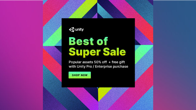 The Best of Unity Super Sale is now live!