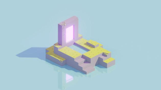 Teleport in Blender 2.9 - 3D Modeling And Lighting Process