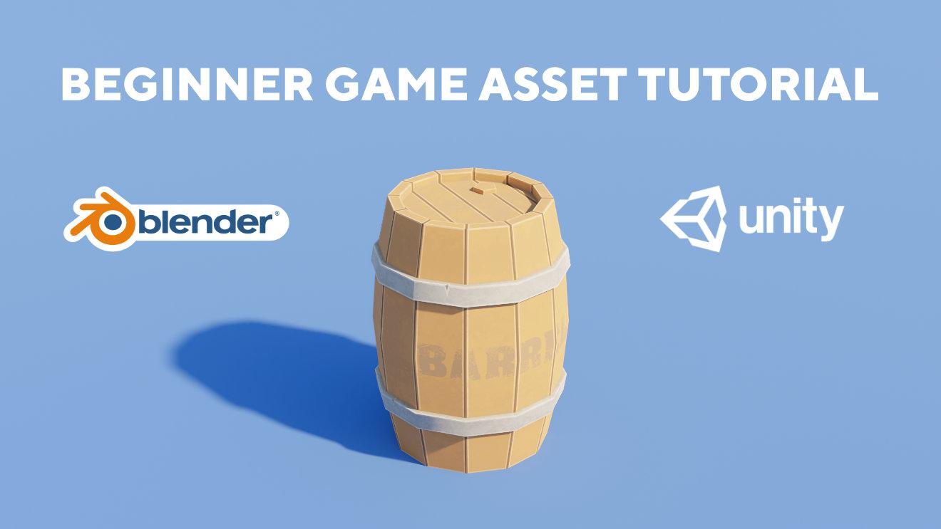 GAME ASSET BEGINNER TUTORIAL - Blender to Unity