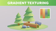 Blender Tutorial - Gradient Texturing (Game Assets)