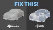 How To Fix Flipped Normals In Blender & Unity