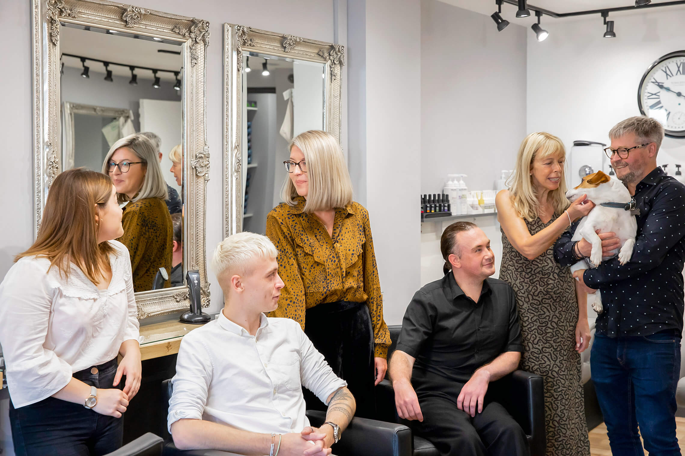 Contact Richard Pearce Hairdressing
