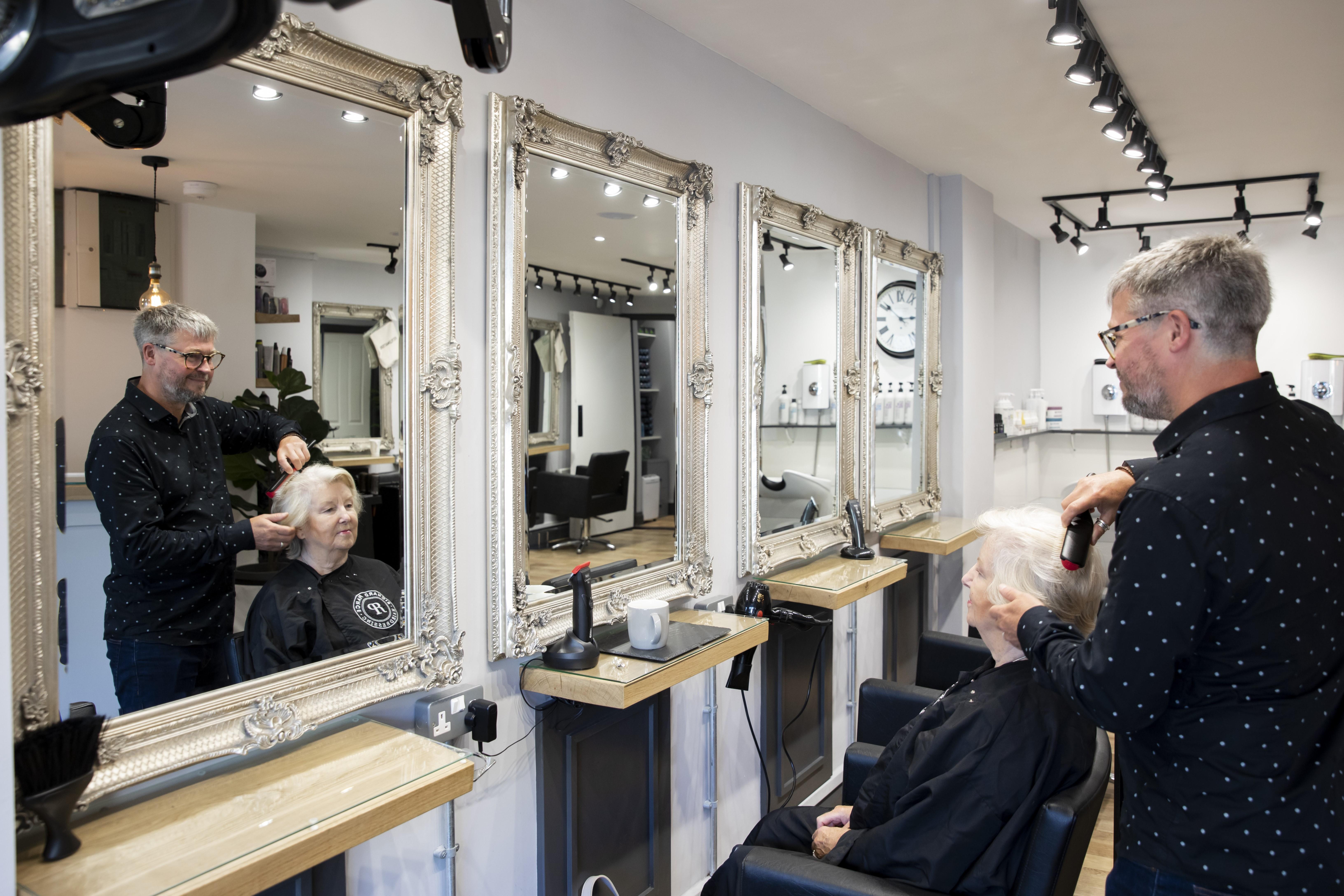 A salon like no other