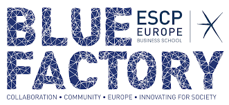 Logo Blue factory ESCP