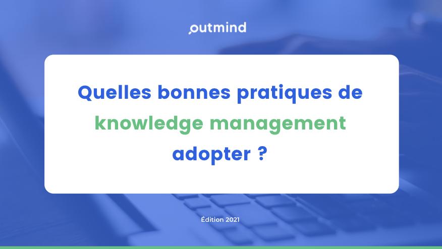 Page du livre blanc quelles bonnes pratiques de knowledge management adopter ?
