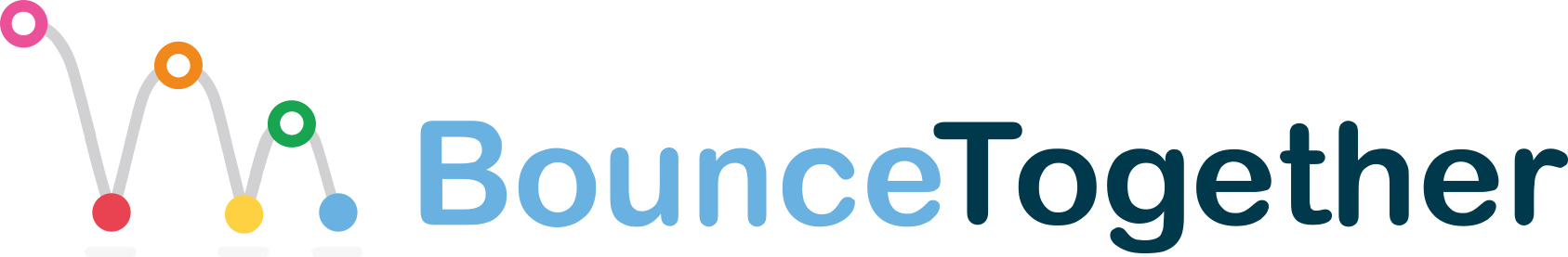 BounceTogether Blue logo