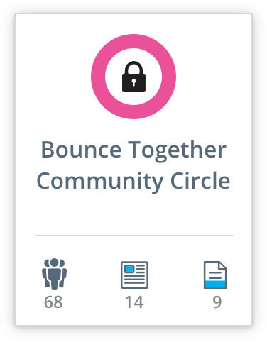 Bounce community circle edoocoo
