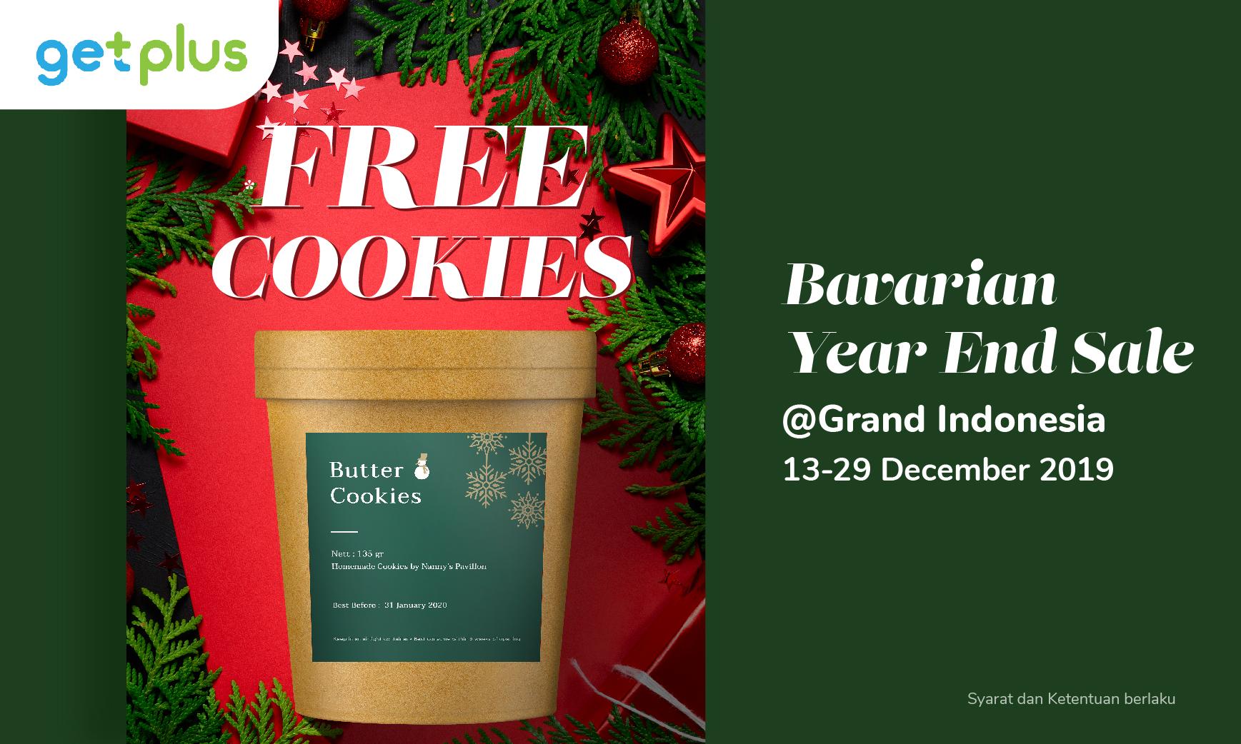 Belanja di Bavarian Year End Sale Grand Indonesia Bisa #DapetinLebih Nanny's Pavillon Cookies Tub!