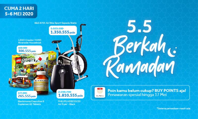 Diskon 5.5 Berkah Ramadan Sale Bikin Puasa jadi Tambah Seru!