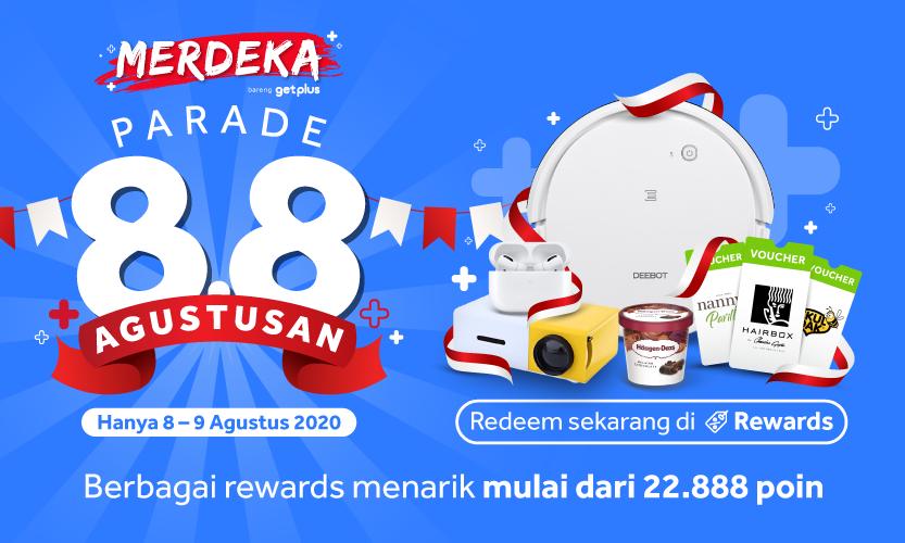Nikmati Promo 8.8 Parade Agustusan Selama 8-9 Agustus 2020!